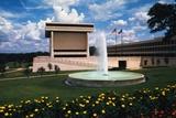 Exterior View of Lyndon B Johnson Library Photographic Print