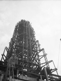Skeleton of Empire State Building Photographic Print