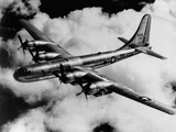 Boeing B-50A Superfortress in Flight Photographic Print