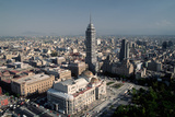 View from above of Mexico City Photographic Print by Danny Lehman
