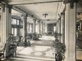 Interior of the Hotel Elton Photographic Print
