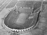 View Looking down on Municipal Stadium Photographic Print