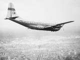 A Pan Am Clipper in Flight Photographic Print