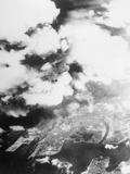 Hiroshima Mushroom Clouds Photographic Print