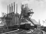 Blast Furnace of the Carnegie Steel Corp Photographic Print