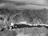 Aerial View of Hoover Dam Photographic Print by Charles Rotkin