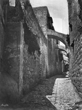 Fifth Station on via Dolorosa Photographic Print
