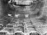 Interior of Ship under Construction Photographic Print by Gordon Stuart