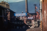Barricade Erected by Belfast Protestants 1969 Photographic Print