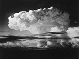 Mushroom Cloud from Nuclear Testing in the Marshall Islands Photographic Print