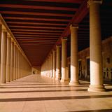 Stoa of Attalos Photographic Print by Philip Gendreau