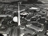 View from Air of Ny World's Fair Photographic Print