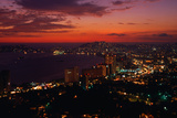 Acapulco at Twilight Photographic Print by Nik Wheeler