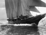 The Hussar Auxiliary Schooner Photographic Print by Edwin Levick