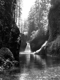 Waterfall at Eagle Creek Photographic Print by R.M. Filloon