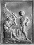 Roman Relief of Daedalus and Icarus Photographic Print