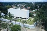 View of Landscape Surrounding Saigon Embassy Photographic Print