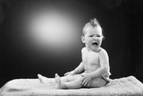 Child Crying Photographic Print by Philip Gendreau