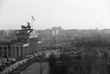 Berlin Wall @Brandenburg Gate Gen. View Photographic Print