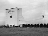 Drive-In Photographic Print by Arthur Rothstein
