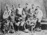 Yale Football Team Photographic Print