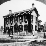 Abraham Lincoln's House Photographic Print