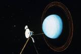 Artist's Conception of Uranus Fly By Photographic Print