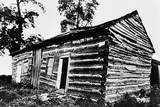 Front and East End of Abraham Lincoln Cabin from Southeast Corner Photographic Print