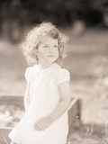 Girl in White Dress Photographic Print by Philip Gendreau