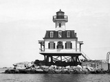 Greenport Lighthouse Photographic Print by Edwin Levick