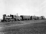 Union Pacific Train Passing Photographic Print