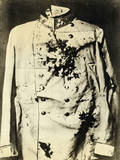 Bloodied Coat of Franz Ferdinand Photographic Print