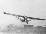 Airplane on Practice Flight before Endurance Record Attempt Photographic Print