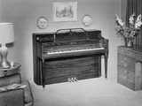 Ivers and Pond Upright Piano in Home Interior Photographic Print