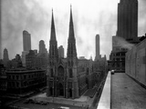 St. Patrick's Cathedral, Rooftop View Photographic Print