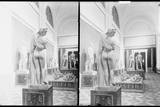 Aphrodite Callipygos and Other Statues in the Museo Archeologico Nazionale in Naples, Italy Photographic Print