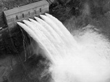 Irrigation Valves at Boulder Dam Photographic Print
