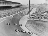 Bobby Unser and Fellow Racers Photographic Print