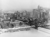 Pittsburgh in the 1940S Photographic Print by Marion Post Wolcott