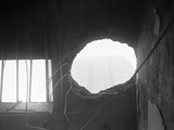 Hole from Crash at Empire State Building Photographic Print