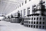 Turbine Room of Wilson Dam Power Plant Photographic Print by Philip Gendreau