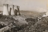 Power Plant on Hillside Photographic Print