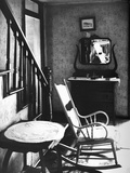 Rocking Chair in House Photographic Print by Walker Evans