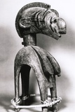 Tribal Mask from Guinea Photographic Print