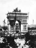 Victor Hugo's Funeral Photographic Print