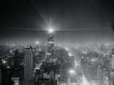 View of Brightest Continuous Manmade Source of Light Photographic Print by Sam Goldstein