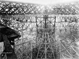 Construction Phase of Eiffel Tower Photographic Print