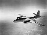 B-45 Bomber in Flight Photographic Print