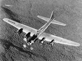 B-17 Flying Fortress in Flight Photographic Print