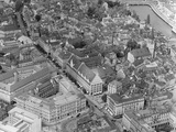 Aerial View of Zurich Photographic Print by Charles Rotkin